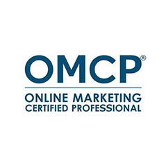 OMCP - online marketing certified professional badge